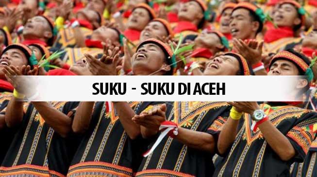 Suku-Suku di Aceh