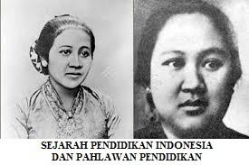 SEJARAH PENDIDIKAN INDONESIA DAN PAHLAWAN YANG BERJASA DI BIDANG PENDIDIKAN